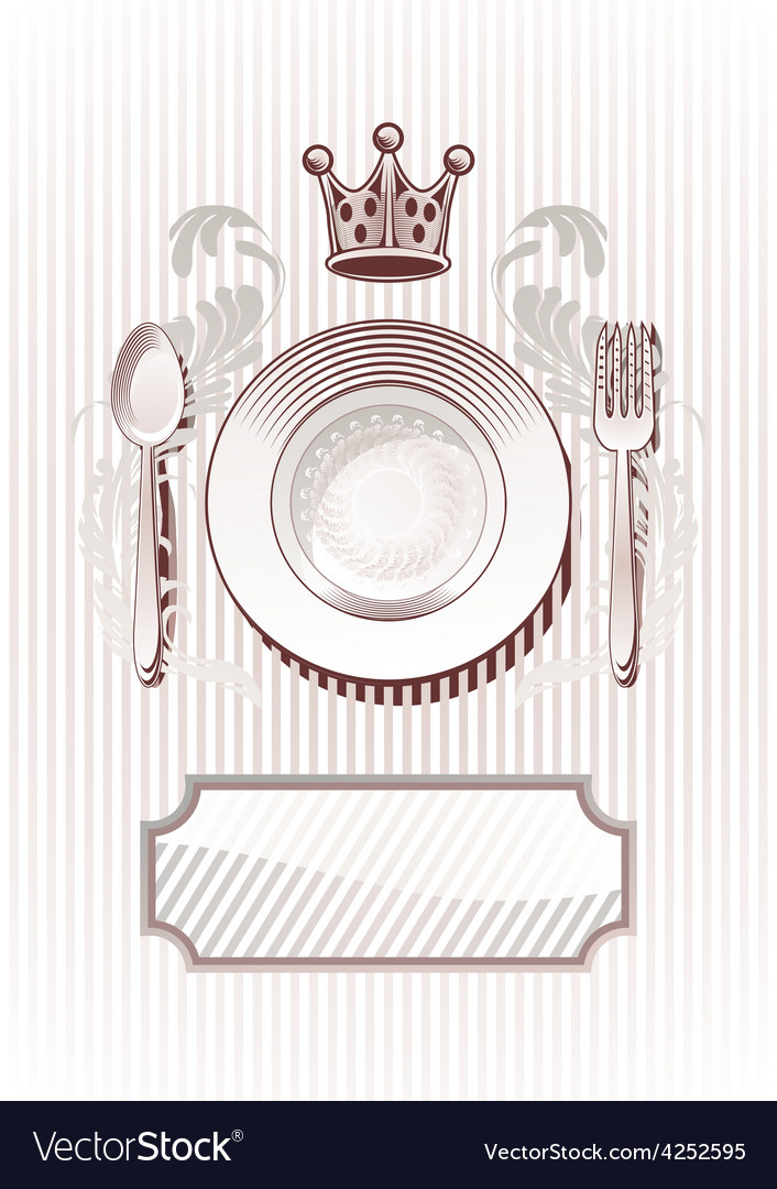 Royal diner vector | Price: 1 Credit (USD $1)