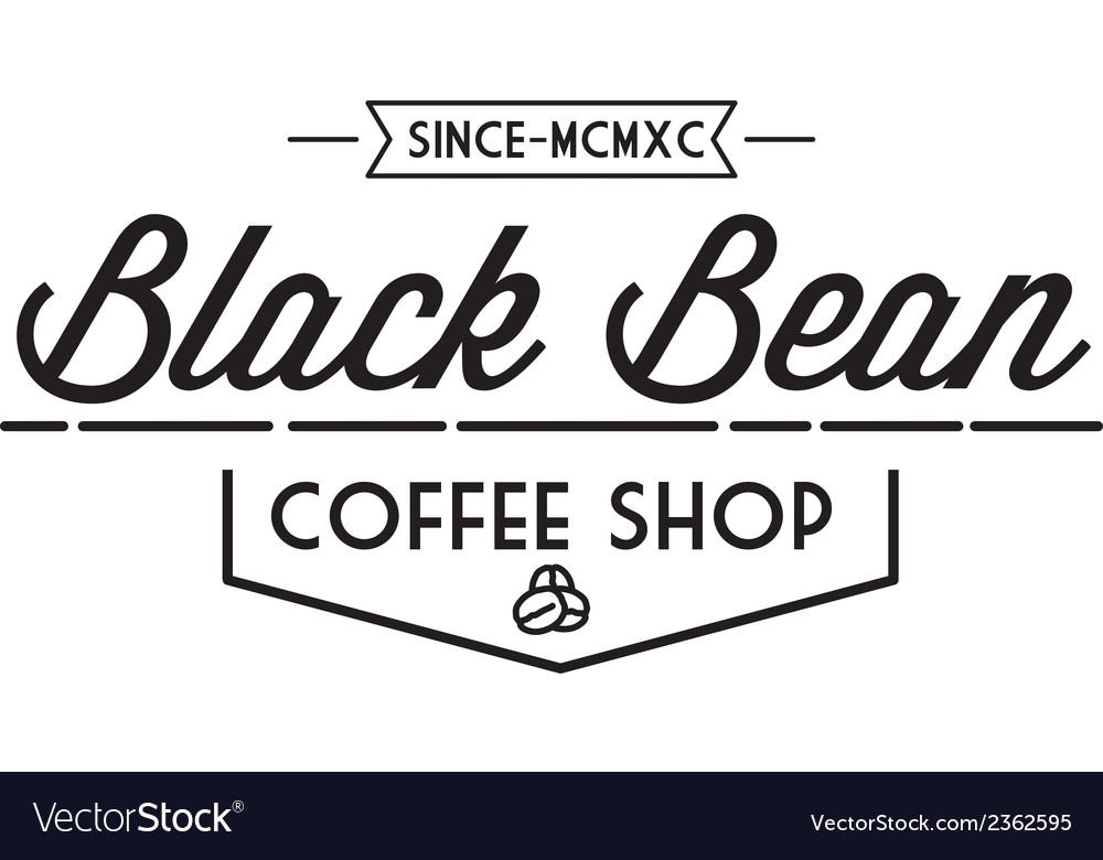 Vintage coffee logo vector | Price: 1 Credit (USD $1)
