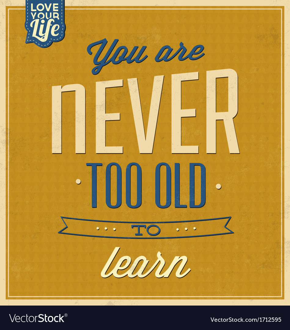 Vintage quote typographic background vector | Price: 1 Credit (USD $1)