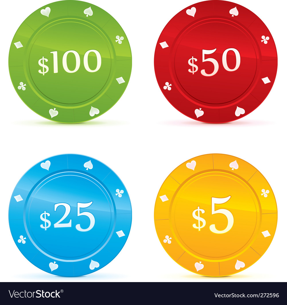 Casino chip vector | Price: 1 Credit (USD $1)