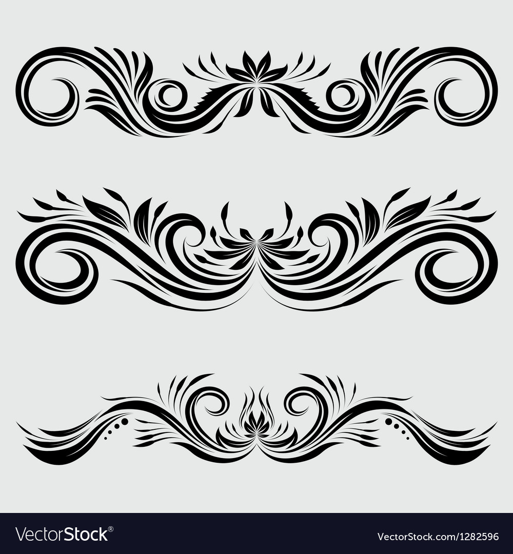 Decorative ornamental vector | Price: 1 Credit (USD $1)