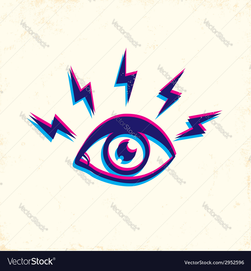 Eye 3d vector | Price: 1 Credit (USD $1)