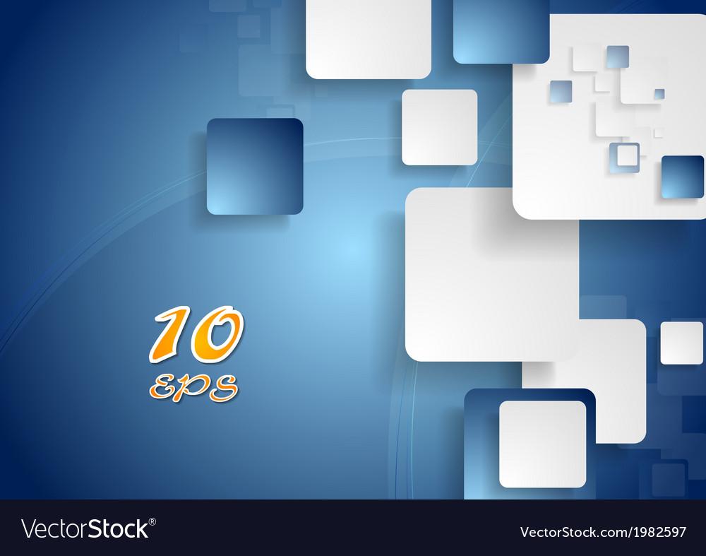 Bright squares design vector | Price: 1 Credit (USD $1)