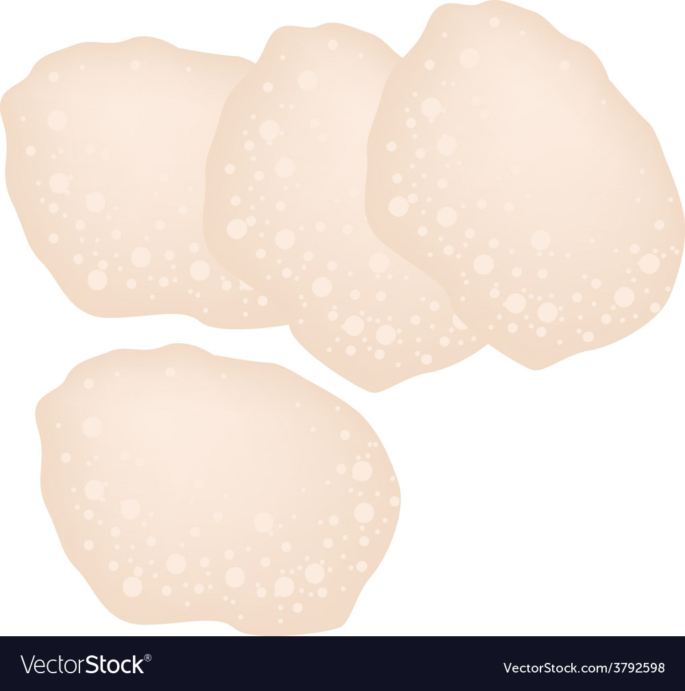 Senbei or traditional japanese rice crackers vector | Price: 1 Credit (USD $1)