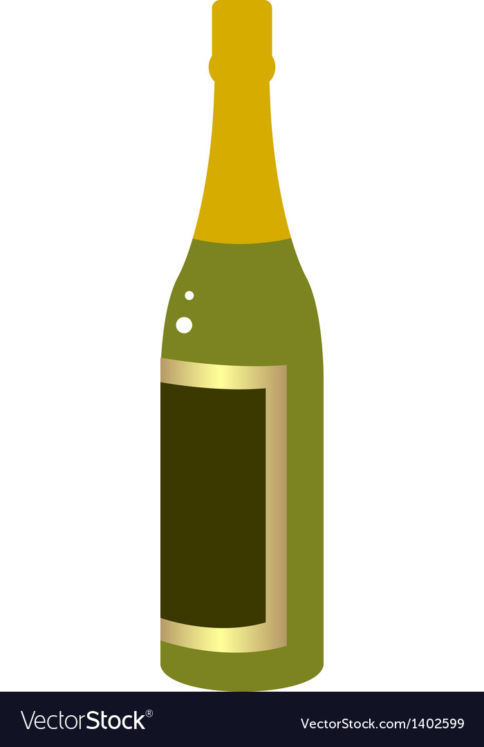 A bottle vector   Price: 1 Credit (USD $1)