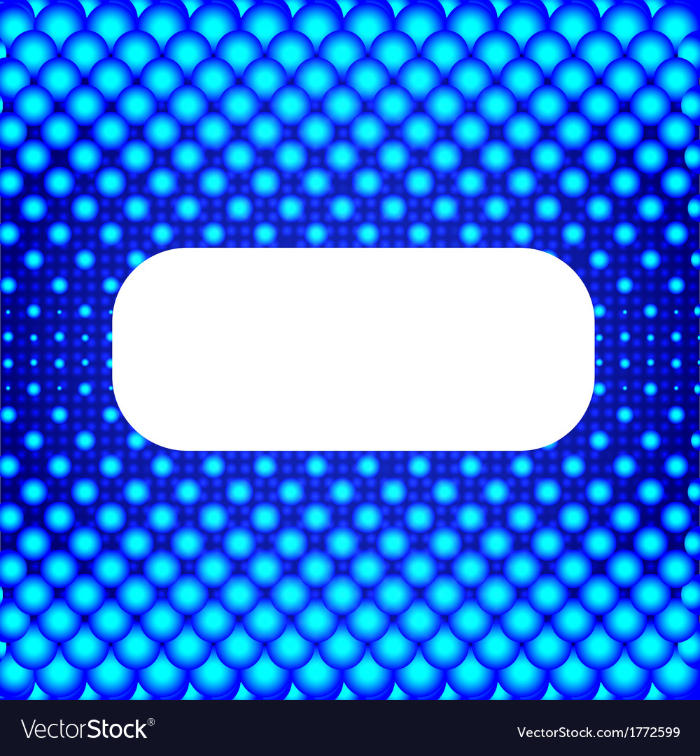 Blue halftone background with white banner for vector   Price: 1 Credit (USD $1)