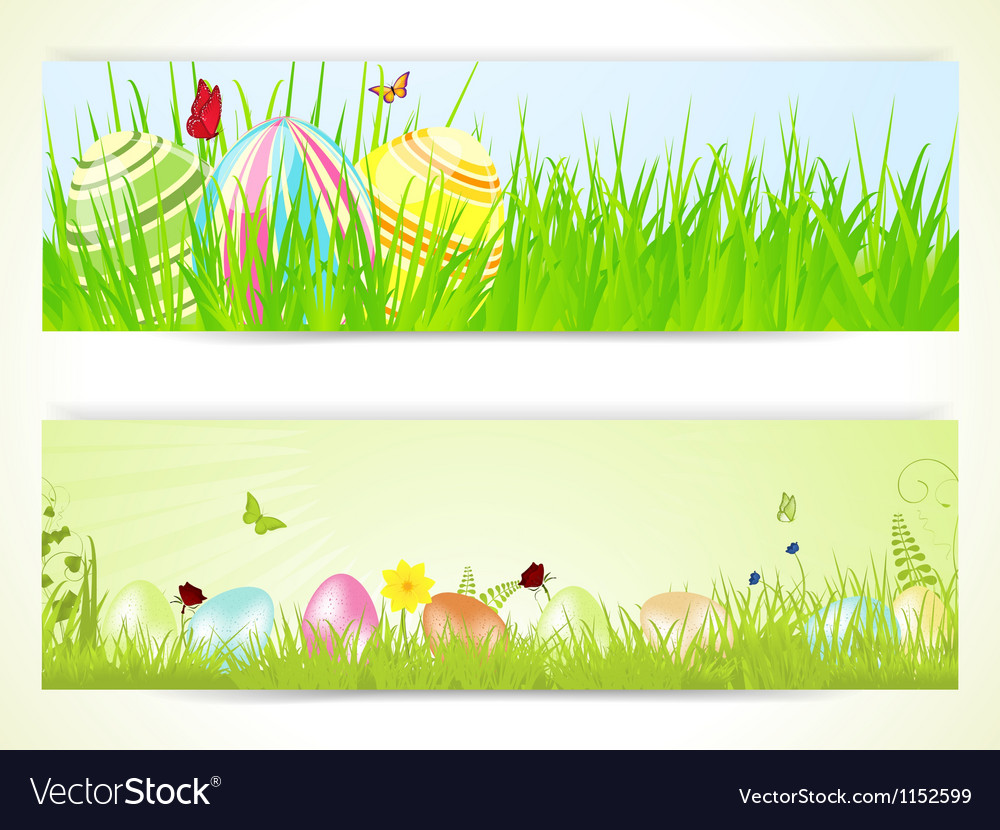 Easter banners 2013 vector | Price: 1 Credit (USD $1)