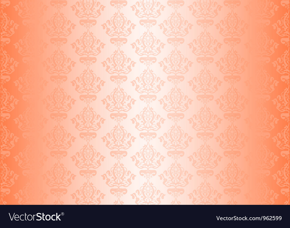 Peachy wallpaper vector | Price: 1 Credit (USD $1)