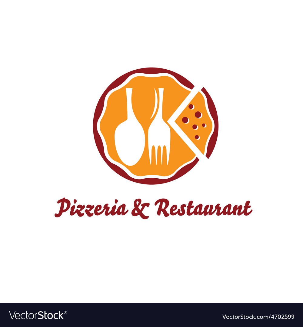 Pizzeria and restaurant design template vector | Price: 1 Credit (USD $1)
