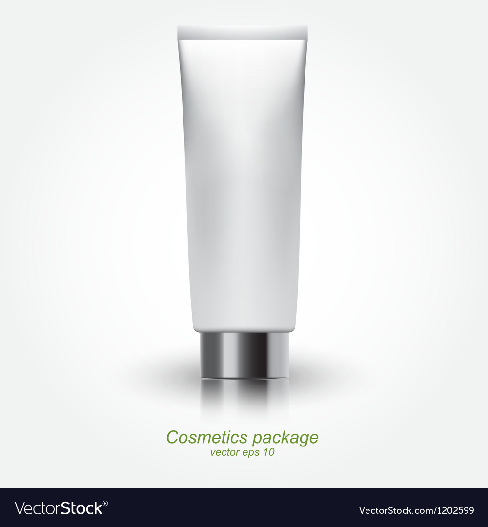 Tube of cream vector | Price: 1 Credit (USD $1)