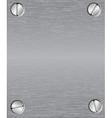 Metallic steel background vector
