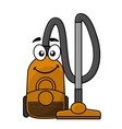 Cute cartoon vacuum cleaner vector