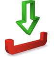 Inbox icon vector