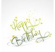 Funny birthday card vector