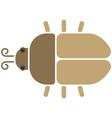 Bieetle icon vector