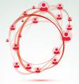 Social network user circle friendship relation vector