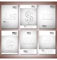 Three dimensional mesh stylish inscriptions - abc vector