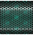 Mesh metal grate as background grill vector