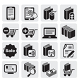 E-book icons vector