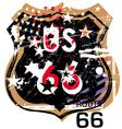 Route 66 design vector