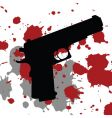 Gun blood vector