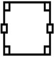 Ornamental decorative frame vector