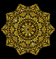 Pattern gold vector