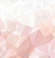 Pastel pink polygonal triangular pattern vector