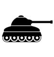 Panzer icon vector