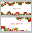 Christmas set invitation cards for your design vector