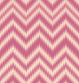 Rose ikat chevron vector
