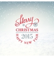 Christmas snow environment vector
