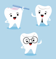 Dental characters vector