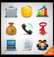 Business icons - set 1 vector