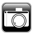 Camera button vector