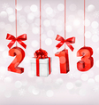 Happy new year 2013 new year design template vector