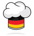 Germany chef hat vector