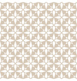 White seamless abstract rhombus lace pattern vector