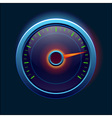 Car speedometer and dashboard vector