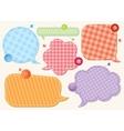 Set of speech bubbles vector