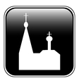 Church button vector