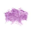 Purple triangle abstract background vector