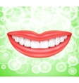 Smile smiling lips vector