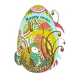 Easter egg happy easter  eps10 vector