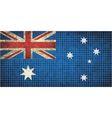 Australian flag mosaic vector