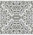 Abstract seamless floral background vector