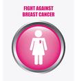 Breast cancer design vector