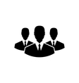 Team icon community business people - vector