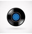 Retro vinyl record vector