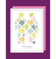 Abstract colorful fishscale couple in love vector